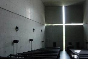 Tadao Andó - Iglesia de la Luz, Ibasaki-shi, Osaka, Japón.