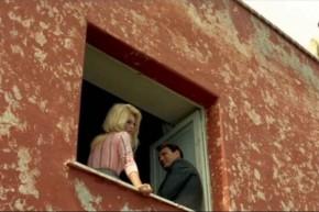 """Adalberto Libera - Casa Curzio Malaparte / """"Le meprís"""", de Jean Luc Godard, con Brigitte Bardot y Jack Palance."""