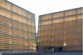 Rafael Moneo - Palacio de Congresos y Auditorio Kursaal, San Sebastian, España.