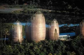 Renzo Piano - Jean Marie Tjibaou Cultural Center, Noumea, New Caledonia