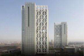 SOM - Poly Real Estate Headquarters, Guangzhou, China